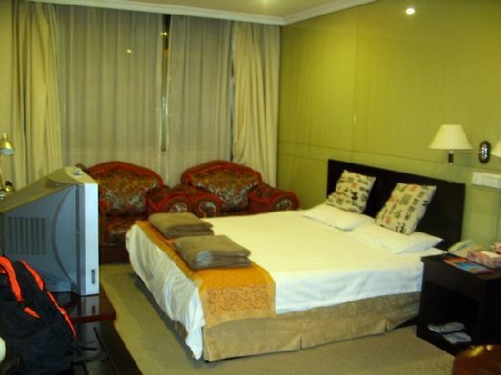 Yun Gang Hotel: 房间(大床房)