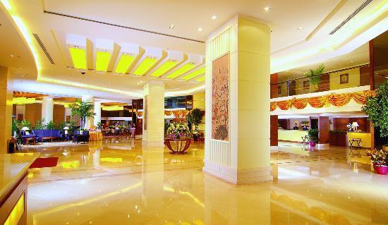 Yihao Hotel : 豪华的酒店大堂