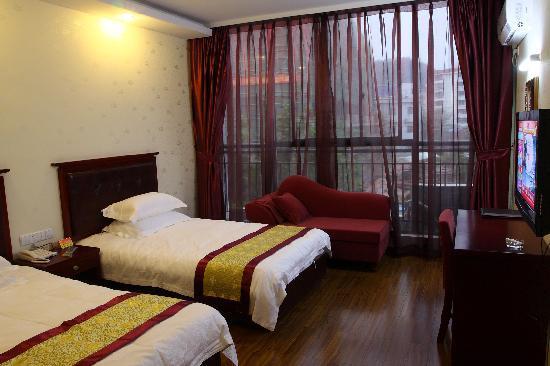 Jindi Hotel : 金帝宾馆标准客房