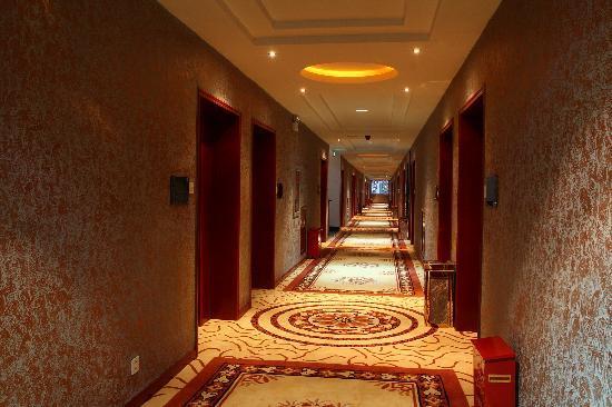 Jindi Hotel : 金帝宾馆走廊