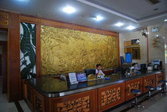 Xinhaojing Hotel: 前台