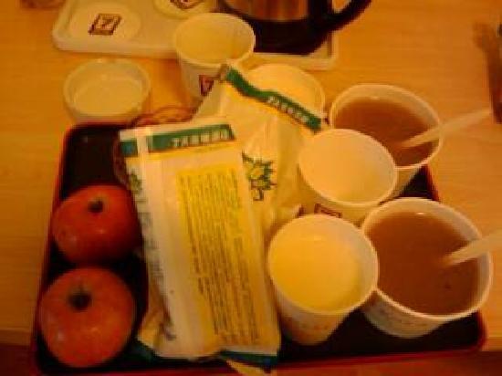 7 Days Inn Chengdu Dujiangyan : 7天早餐