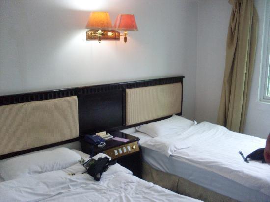 GreenTree Inn Guangxi Guilin Station South Zhongshan Road : 床位
