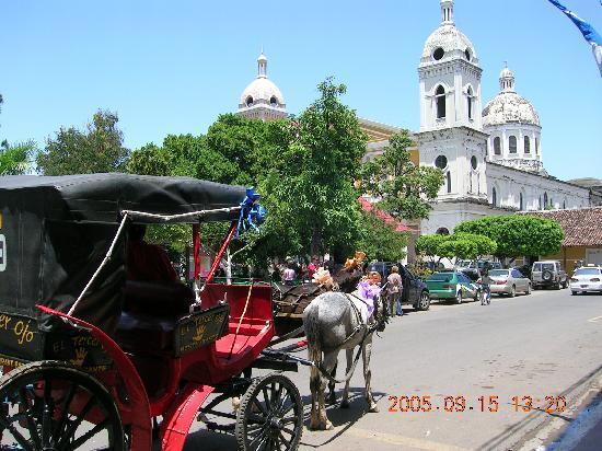 Никарагуа: 尼国街道风景