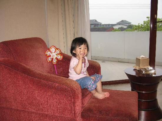 Tonglihu Holiday Village: 房间内
