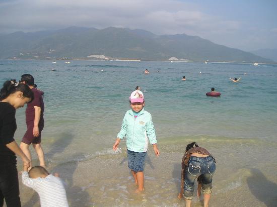 Hainan, China: 分界洲岛的美景