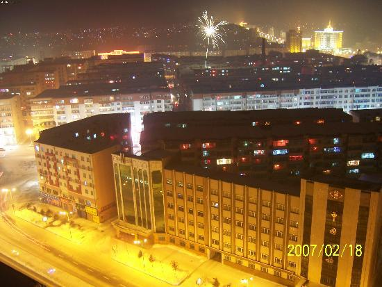 Hegang China  city pictures gallery : Hegang, China: 美丽的夜色