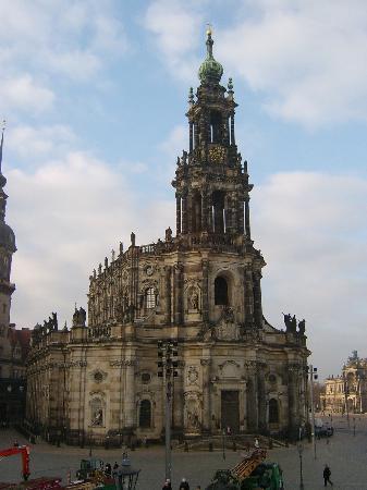 Dresden, Almanya: 王宫1