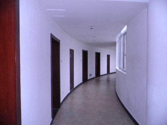 Mingding Mountain Villa: 走廊