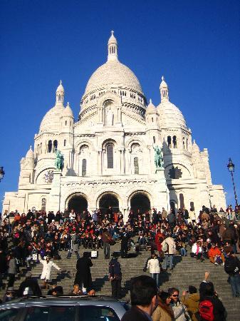 Paris, France: 圣心教堂