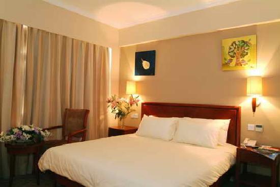 GreenTree Inn Nanjing Jiangning Wanda Square Business Hotel: 房间内部