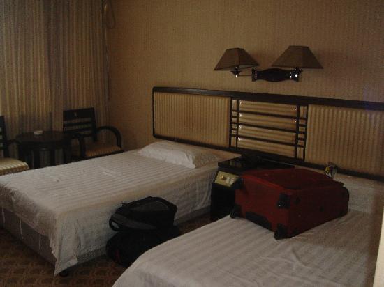 Gemmy Hotel: 大行李还地方摆好