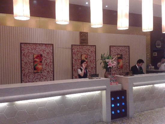 Shanshui Hotel: 大厅前台