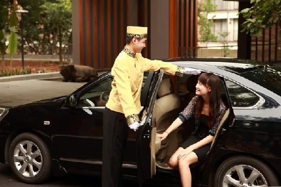 Baiyun Lake Bank Hotel: 礼宾服务