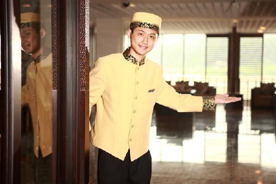 Baiyun Lake Bank Hotel: 迎宾接待服务