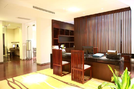 Baiyun Lake Bank Hotel : 商务中心服务