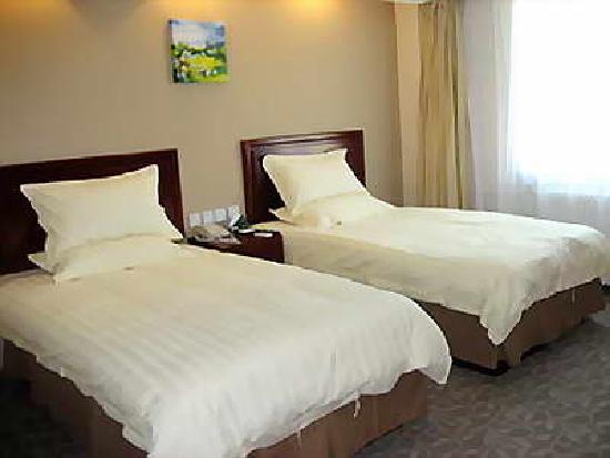 7 Days Inn Beijing Olympic Village: 房间内部
