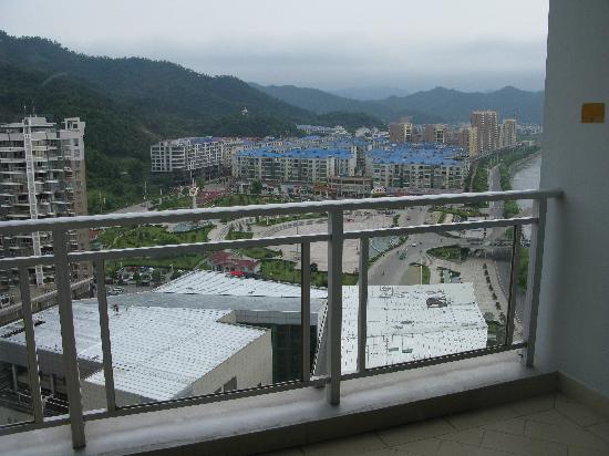 Yintian Hotel: 露台远眺