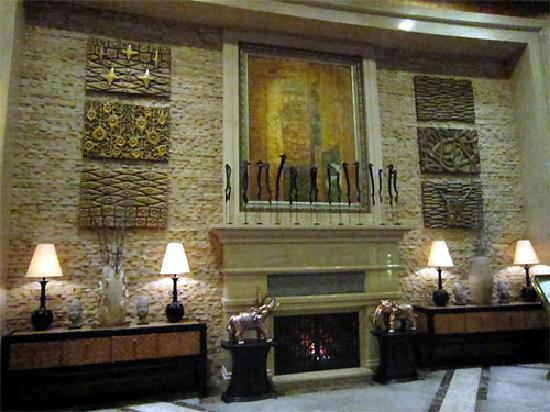 Pattaya Hotel: 大堂的装饰