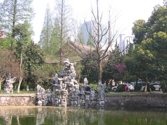 Nanjing Normal University Nanshan Hotel: 南师校园里的环境