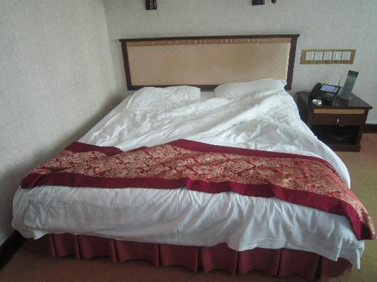 Tieke Jiayuan Hotel: 大床