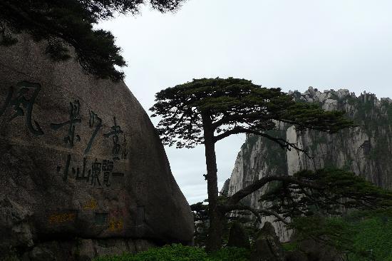 Χουανγκσάν, Κίνα: 迎客松