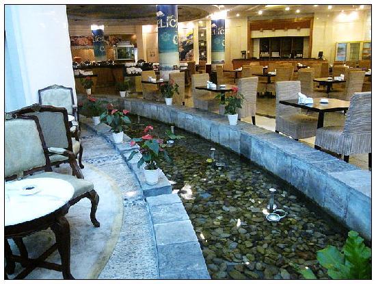 Jinling Star Metropole Hotel Nanjing : 微型水池