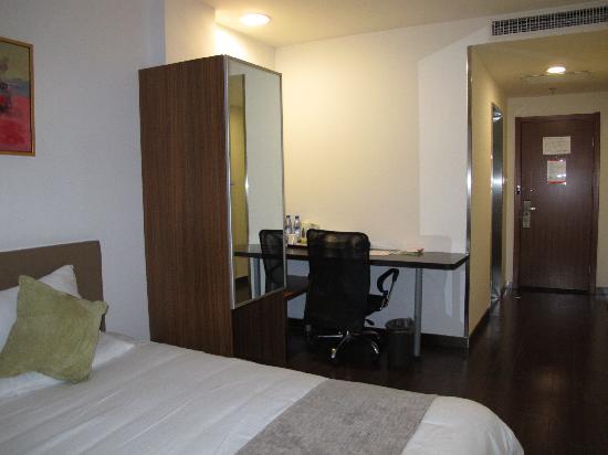 Quanji Hotel Shanghai New Horizons: 房间配有网线