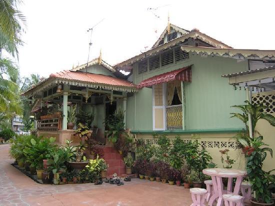 Villa Sentosa (Malay Living Museum): 老爷爷的家