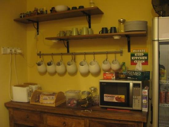 Reggae 1 Guest House: 自助厨房