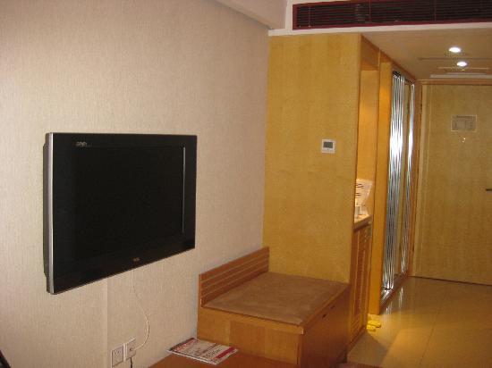 Vienna Hotel Beijing Shouti: 电视机