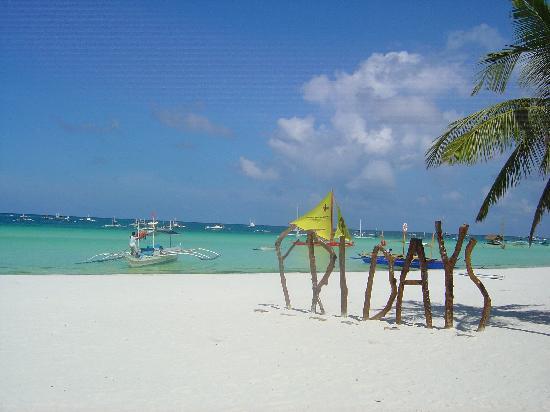 Fridays Boracay Resort : 最具酒店特色的标志