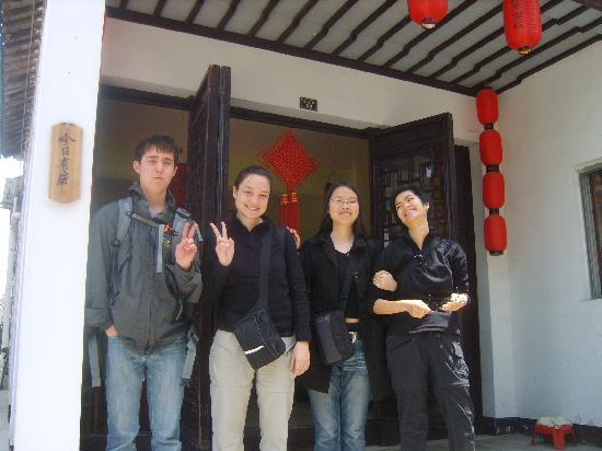 Huayuxuan Inn : 合影留念