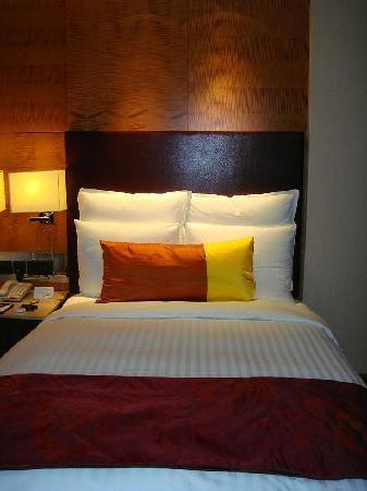 Suzhou Marriott Hotel : 舒适的床