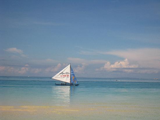 بوراكاي, الفلبين: 晨间的帆船