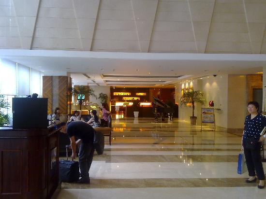 Kingswell hotel Shanghai: 酒店大堂