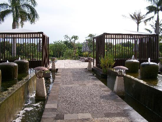Le Grande Bali : 酒店的环境