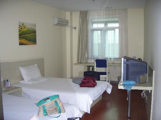 Hanting Express Shanghai Hongqiao Jinhui Road: 简单的布置,经济型酒店要求不能太高