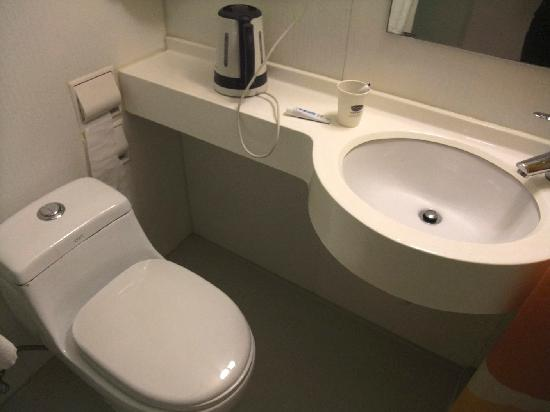 Bestay Hotel Express Xi'an Jiefanglu: 厕所