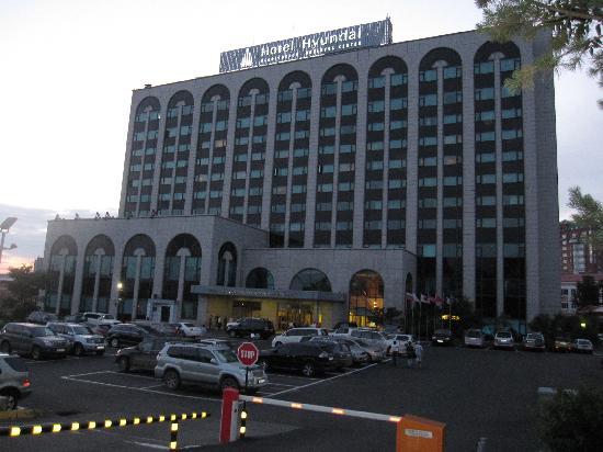 Lotte Hotel Vladivostok: 宾馆的外观