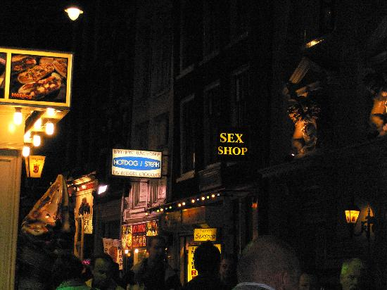 Amsterdam, Nederland: sex bar