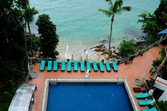Absolute Beach Resort : 阳台外拍