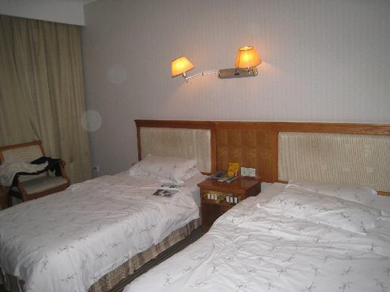 Lingyan Resort : 床~