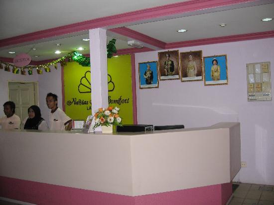 Nadias Inn Beach Resort: 酒店大堂