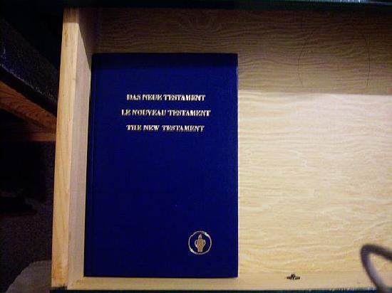 La Diligence: 房价内提供的《圣经》