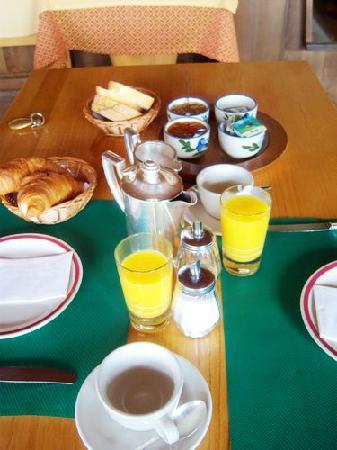 La Diligence: 早餐