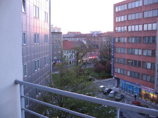 هوتل كونتننتال: 酒店窗外的景色