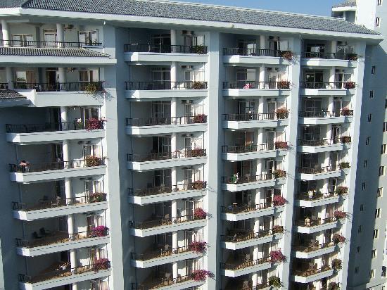 Grand Blue Liwan Apartment Hotel: 酒店