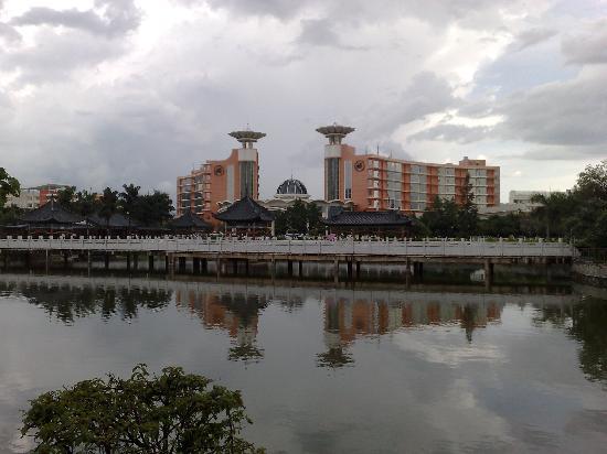 Guanfang Hotel Honghe: 官房酒店全景