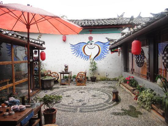Wamao Inn: 温馨的小院